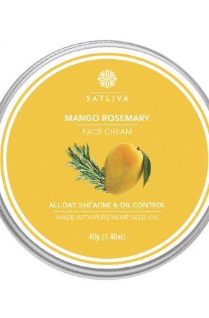 Mango rosemary face cream