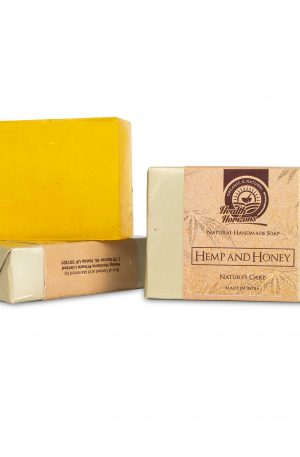 organic soap hemp honey