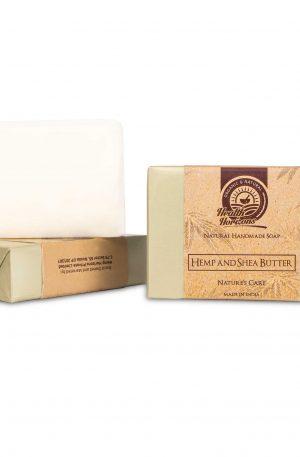 shea butter hemp soap for anti ageing