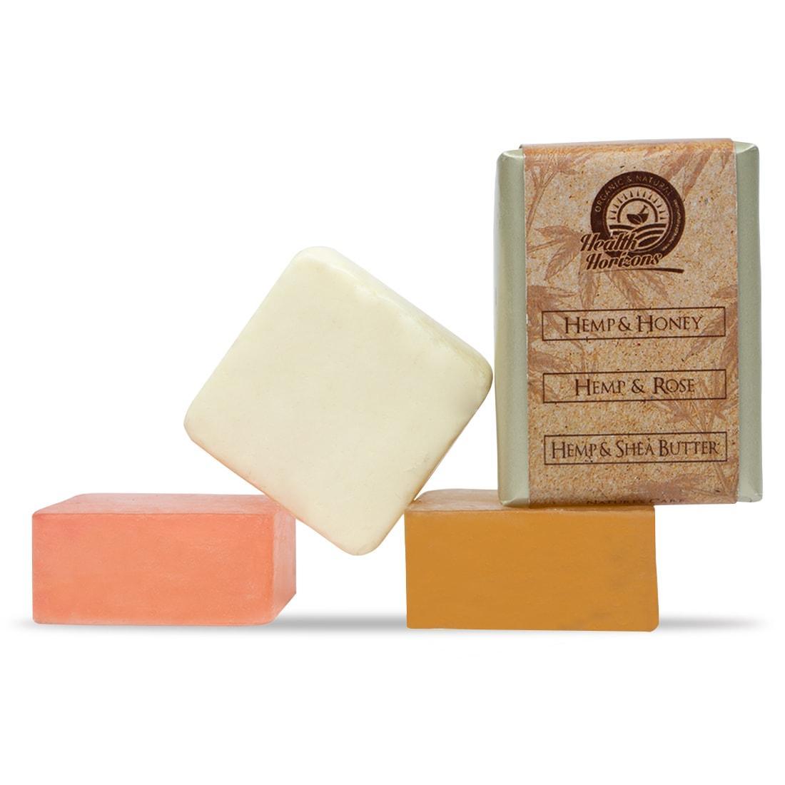organic soap honey shea butter with Hemp