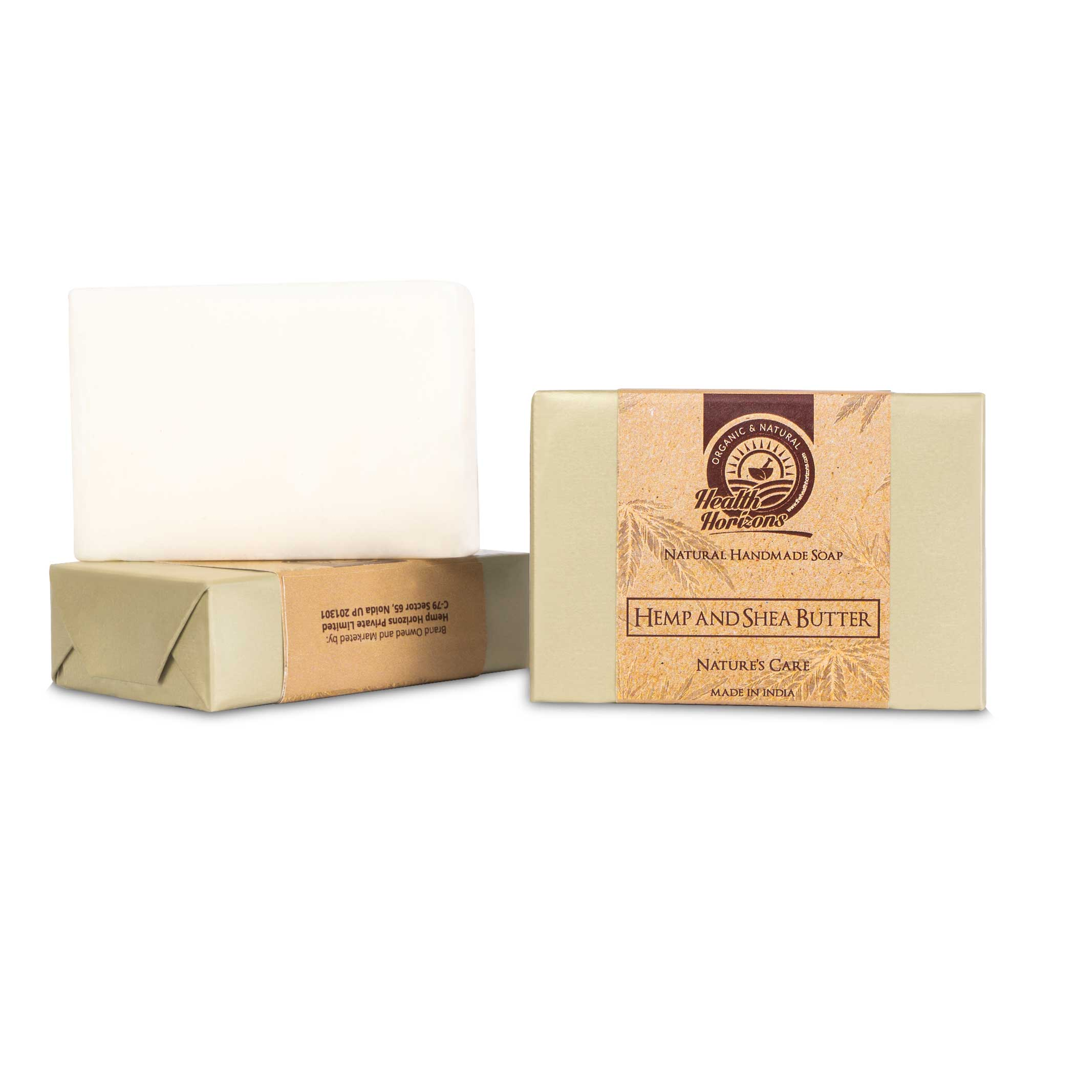 organic soap with hemp and shea butter soap pack 1